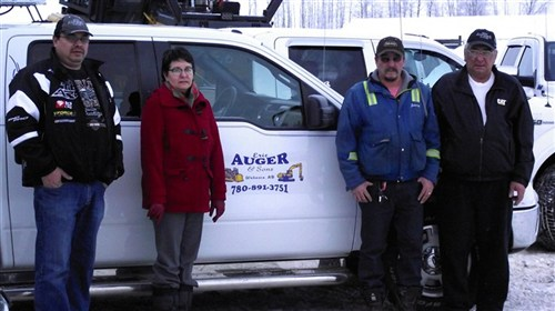 Management of Eric Auger and Sons Contracting Ltd.