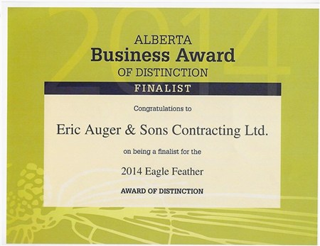 Eagle Feather Business Award of Distinction Finalist